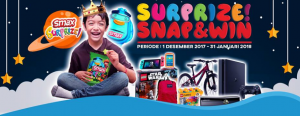 Smax Surprize Snap & Win Hadiahnya Banyak...!!