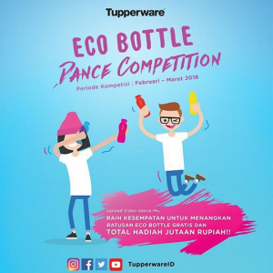 Re-make video Eco Bottle Dance berhadiah total jutaan rupiah