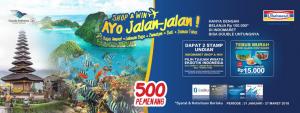 Belanja Menggunakan MyPoin Berhadiah Voucher Travel, Ayo Jalan-Jalan!