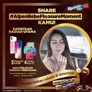 Share Alpenliebe Pleasure Moment Kamu Berhadiah Iphone X