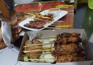 Sate Ayam Pak Indra Blater Purbalingga : Sate Ayam Versi Dus Dusan
