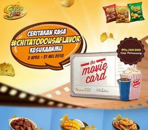 Ceritakan Rasa Chitato Do Us Flavor Berhadiah Movie Card @200K