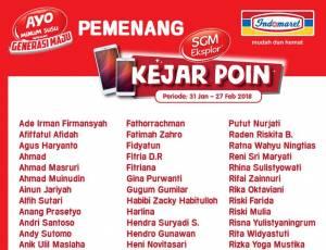 150 Pemenang Smartphone SGM - Indomaret