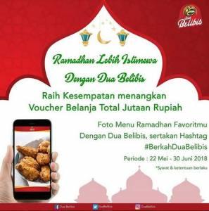 Ramadhan Istimewa Dengan Dua Belibis Berhadiah Voucher Belanja