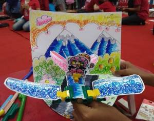 Faber Castle Family Art Competition 2 di Moro Purwokerto : Art For All