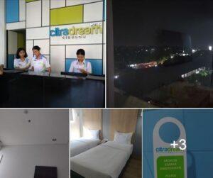 Hotel Citra Dream Cirebon : Bintang 2 Serasa Hotel Bintang 3