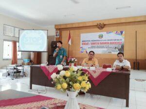 Kegiatan Pemberdayaan Masyarakat Diklat/ Bimtek Bahaya Narkoba Tingkat Kelurahan Teluk Kecamatan Purwokerto Selatan