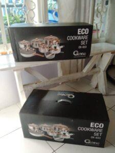 Eco Cookware Set Oxone, Rewards Sania Berbagi Kebaikan