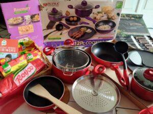 Supra 12 Pc Cookware  : Kualitas Premium harga Terjangkau