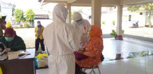 Swab PCR dan RDT Antigen Di Kelurahan Teluk Purwokerto Selatan