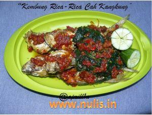 Kembung Goreng Rica-Rica Cah Kangkung