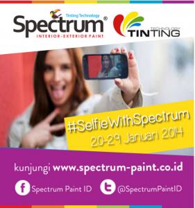 selfie with spectrum