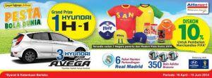 Pesta Bola Dunia Bersama Alfamart