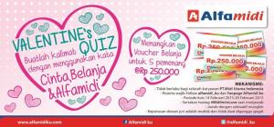 Midi In Love : Buat Kalimat Cinta, Raih Voucher Belanja!