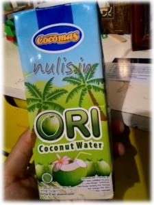 Cocomas Ori Coconat Water : Ada Tambahan Gulanya Kok