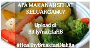 My Healthy Breakfast Contest (Nakita) Berhadiah Hand Blender & Voucher Belanja