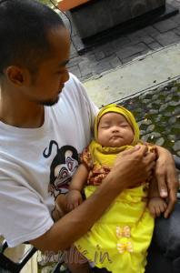 Perkembangan 3 Bulan Baby Anindya