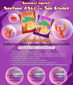 Collective Photo Competition of Sea Crunch, Berhadiah Voucher Belanja!