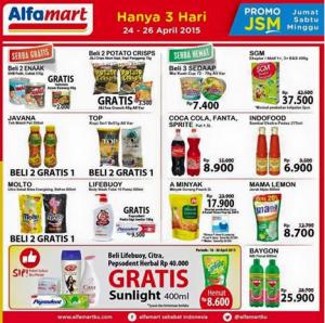 Promo JSM Alfamart 24-26 April 2015