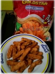 Goldstar Stickie Cheese : Nugget Ayam Rasa Keju, Promo &  Rasa  Sama Asyiknya!