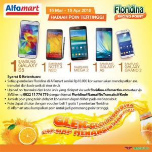 Raih Bintang Tertinggi Bersama Floridina, Berhadiah Gadget!