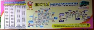 Jadwal Pemberangkatan Shuttle Bus Efisiensi Dari Ambarketawang Jogya