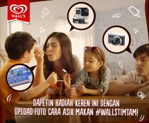 Upload Cara Asikmu Makan Walls Timtam Berhadiah Voucher Belanja & Smart Camera