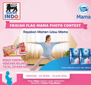 Frisian Flag Mama Photo Contest, Berhadiah Voucher Belanja!