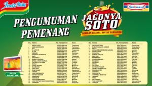 1150 Pemenang Indomie Jagonya Soto - Indomaret