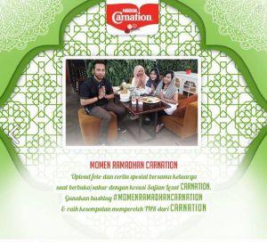 Momen Ramadhan Carnation Chef Berhadiah Voucher Belanja