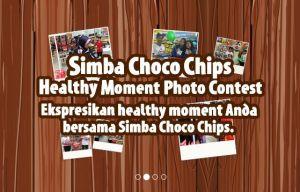 Simba Choco Chips Healthy Moment Photo Contest Berhadiah Voucher Belanja