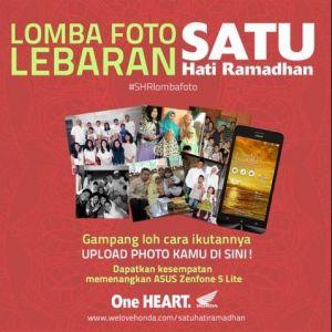 Lomba Foto Lebaran Berhadiah Asus Zenfone 5 Lite