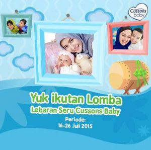 Lomba Foto Lebaran Seru Cussons Baby Berhadiah Pulsa