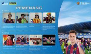 8 Pemenang Hypermart Barcelona (Head & Shoulders)