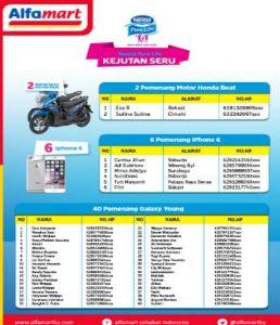 128 Pemenang Nestle Pure Life (Loyalty Point)