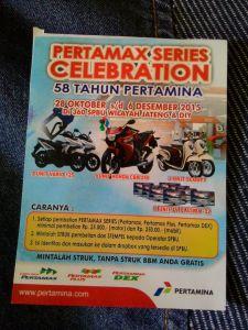 Pertamax Series Celebration Berhadiah Honda CBR