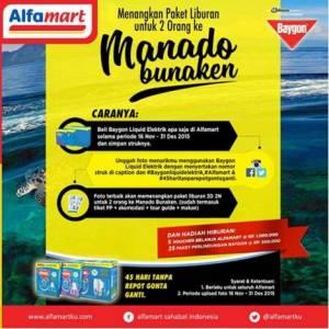 Foto Kontes Baygon Liquid Elektrik Berhadiah Liburan Ke Bunaken (Manado)