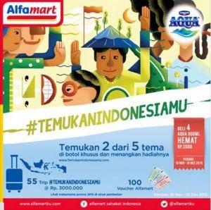 Aqua Temukan Indonesiamu Berhadiah 55 Trip Total Puluhan Juta Rupiah