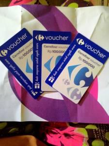 Voucher Carrefour 300K Hadiah Kontes Kreasi Persembahan Ibu & Aku (Combiphar)