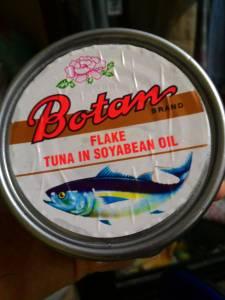 Botan Tuna Flake Soy Bean Oil : Tuna Ancur Cocok Buat Campuran