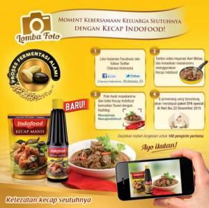 Foto Moment Kebersamaan Keluarga Dengan Kecap Indofood Berhadiah Voucher Spa
