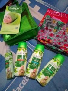 Hijab Cantik & Paket Produk Sariayu : Hadiah Kreasi Hijab Cantik Alfamidi