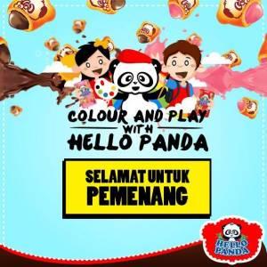 20 Pemenang Colour & Play With Hello Panda