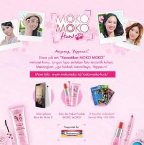 Share Kecantikan Moko- Moko Mu  Berhadiah Smartphone