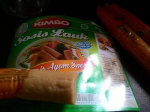 Sosis Lauk Kimbo Ayam Spesial : Versi Jumbo Lebih Berasa