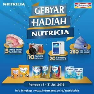 Gebyar Hadiah Nutricia - Indomaret