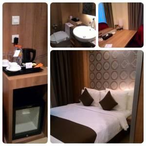 Hotel GP Mega Kuningan : Masuk Lobby Langsung Restoran