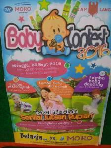 Baby Contest Moro 2016 Berhadiah Total Jutaan Rupiah