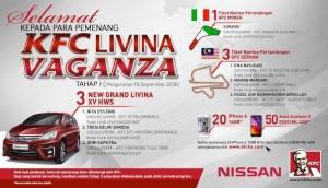 76 Pemenang KFC Livina Vaganza (Tahap 1)