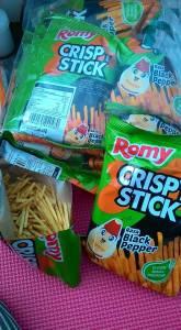 Romi Crispy Stick Black Pepper : Stick Rasa Pedas Harga Terjangkau